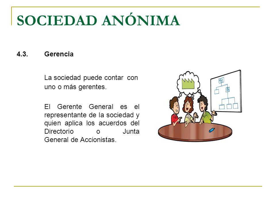 SOCIEDAD ANÓNIMA 5.ACCIONES Las acciones son títulos que representan partes alícuotas del capital social.