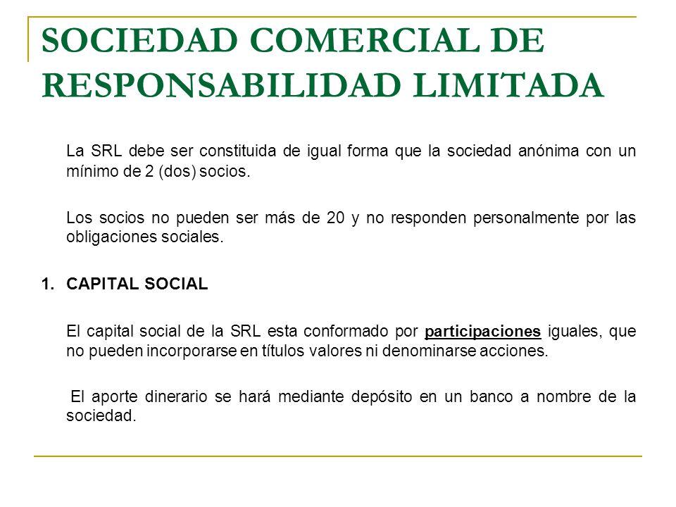 SOCIEDAD COMERCIAL DE RESPONSABILIDAD LIMITADA.2.