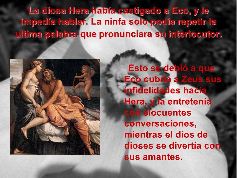 Eco y Narciso Realizado por Irene Maroto Gallardo (alumna de Cultura Clásica II) (IES Fuente de la Peña –Jaén-)