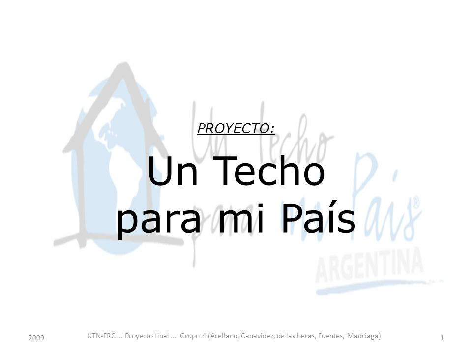 UTN-FRC... Proyecto final...