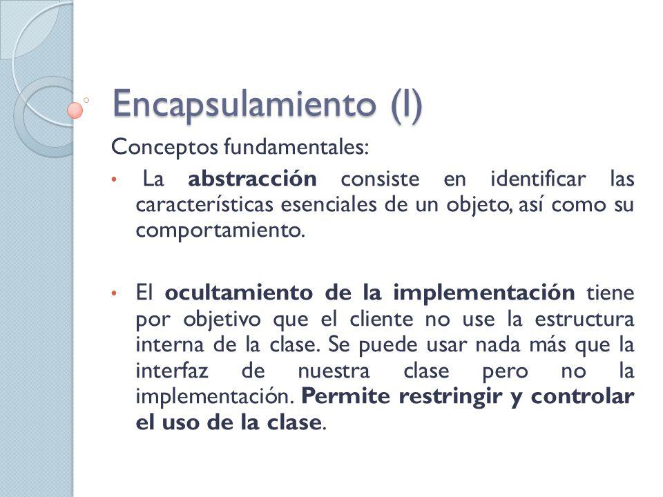 Conceptos fundamentales: La abstracción consiste en identificar las características esenciales de un objeto, así como su comportamiento.