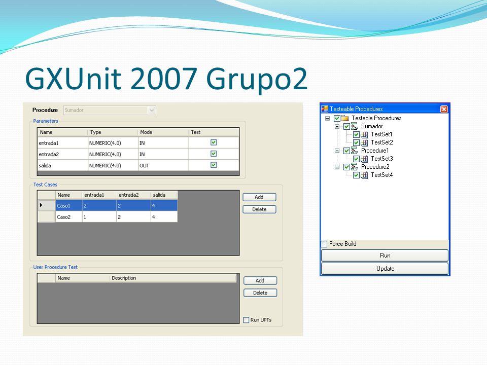 GXUnit 2007 Grupo2