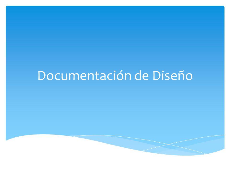 Documentación de Diseño