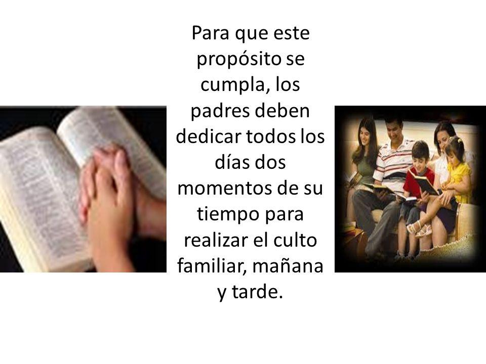 El hecho de que los hogares se encuentren en esta situación, no es otra cosa que el olvido de la recomendación de Dios a los padres para que «instruyan a sus hijos».