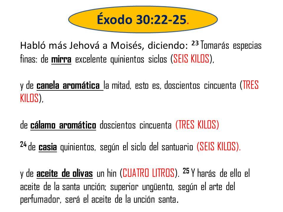 Éxodo 30:22-25.