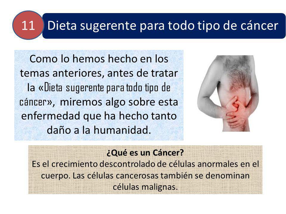 Causas El cáncer se origina de células normales en el cuerpo.