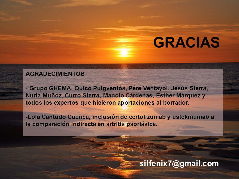 GRACIAS AGRADECIMIENTOS - Grupo GHEMA, Quico Puigventós, Pére Ventayol, Jesús Sierra, Nuria Muñoz, Curro Sierra, Manolo Cárdenas, Esther Márquez y tod