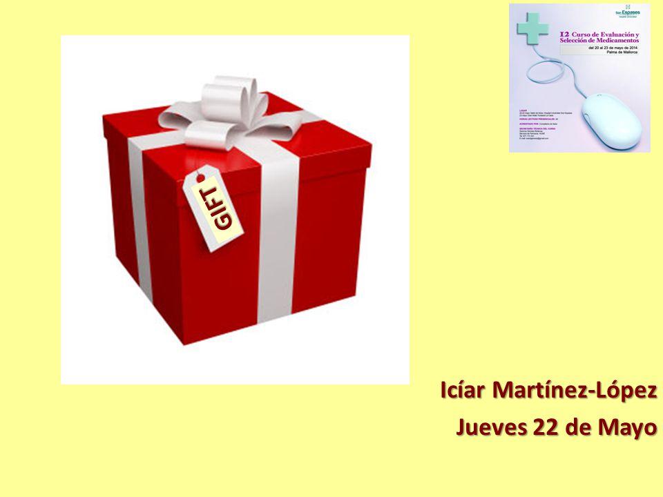 GIFT Icíar Martínez-López Jueves 22 de Mayo