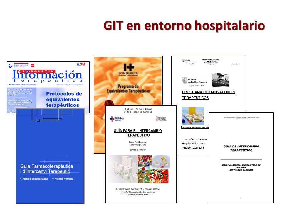 GIT en entorno hospitalario