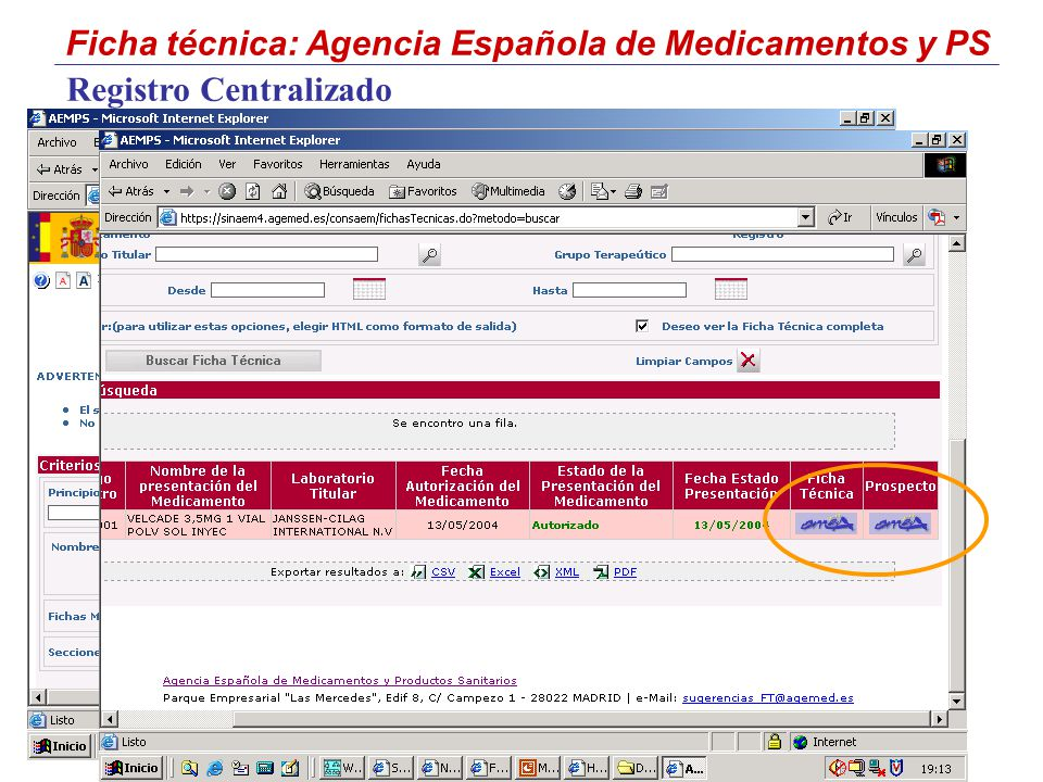 Registro Centralizado