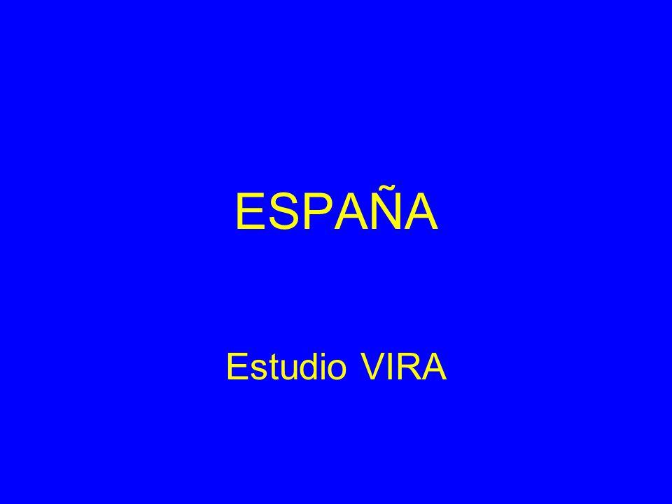 ESPAÑA Estudio VIRA