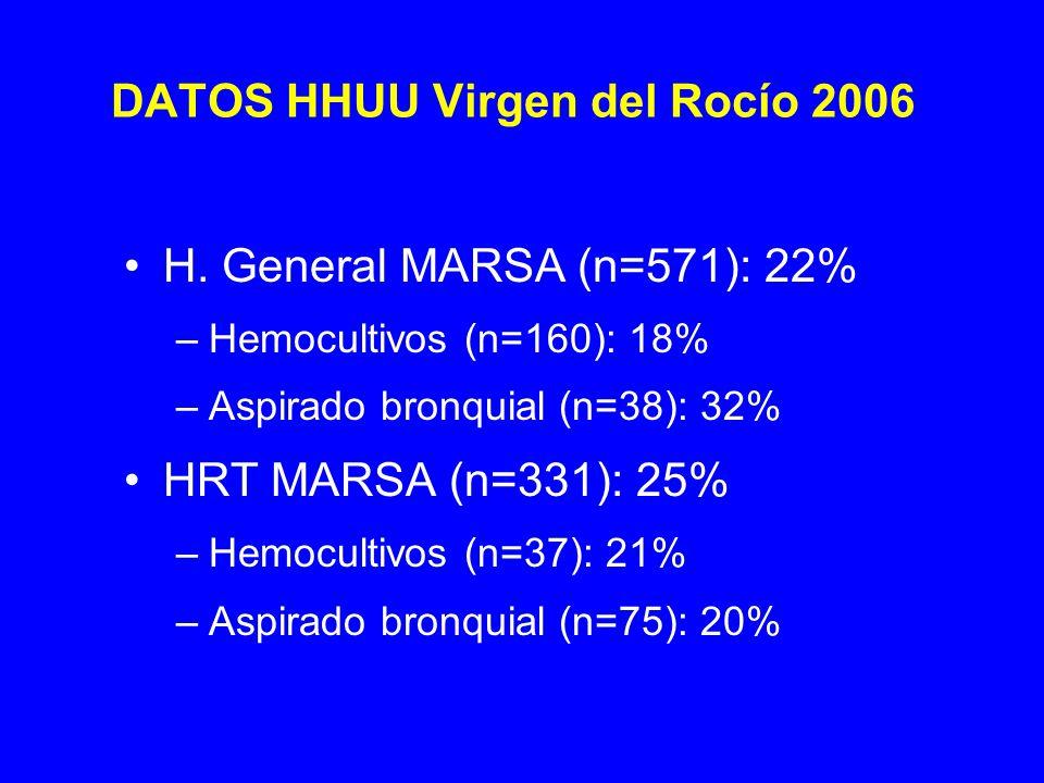 DATOS HHUU Virgen del Rocío 2006 H.