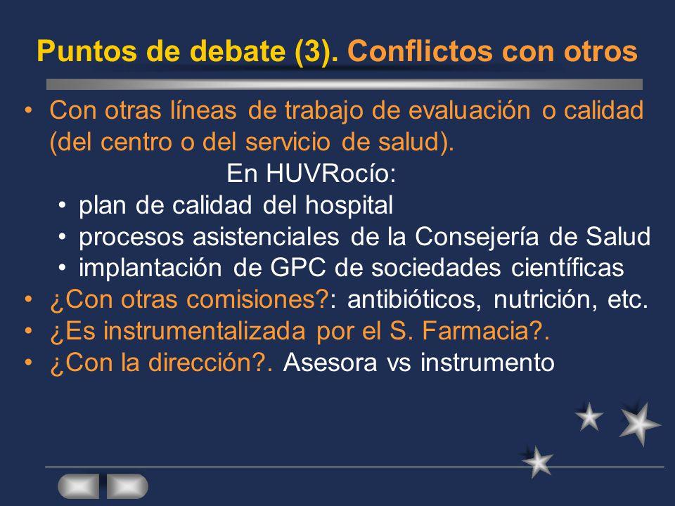 Puntos de debate (3).