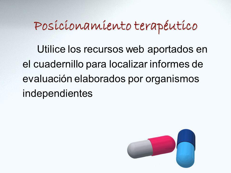 Utilice los recursos web aportados en el cuadernillo para localizar informes de evaluación elaborados por organismos independientes