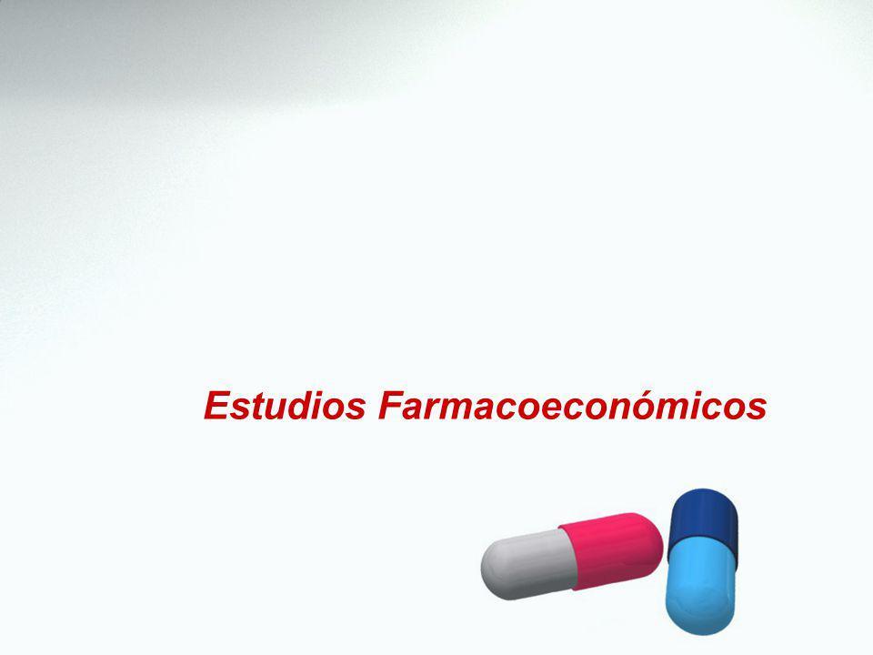 Estudios Farmacoeconómicos