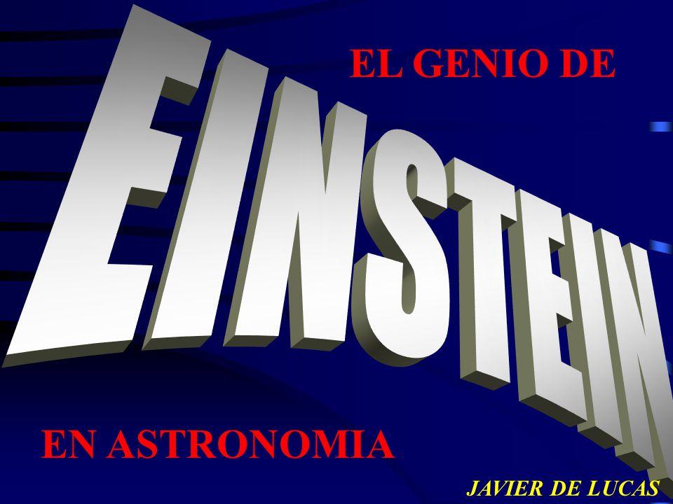 EL GENIO DE JAVIER DE LUCAS EN ASTRONOMIA