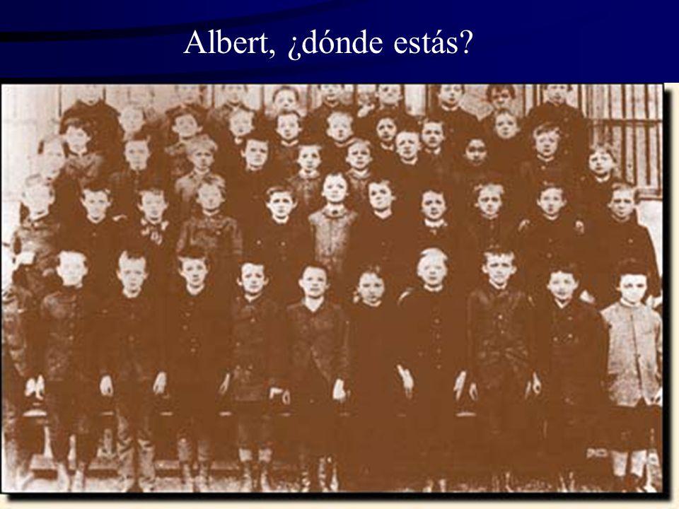 Albert, ¿dónde estás?