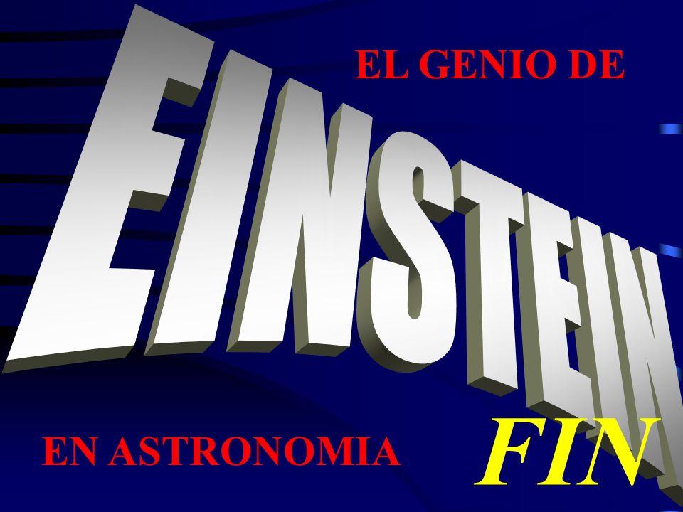 EL GENIO DE FIN EN ASTRONOMIA