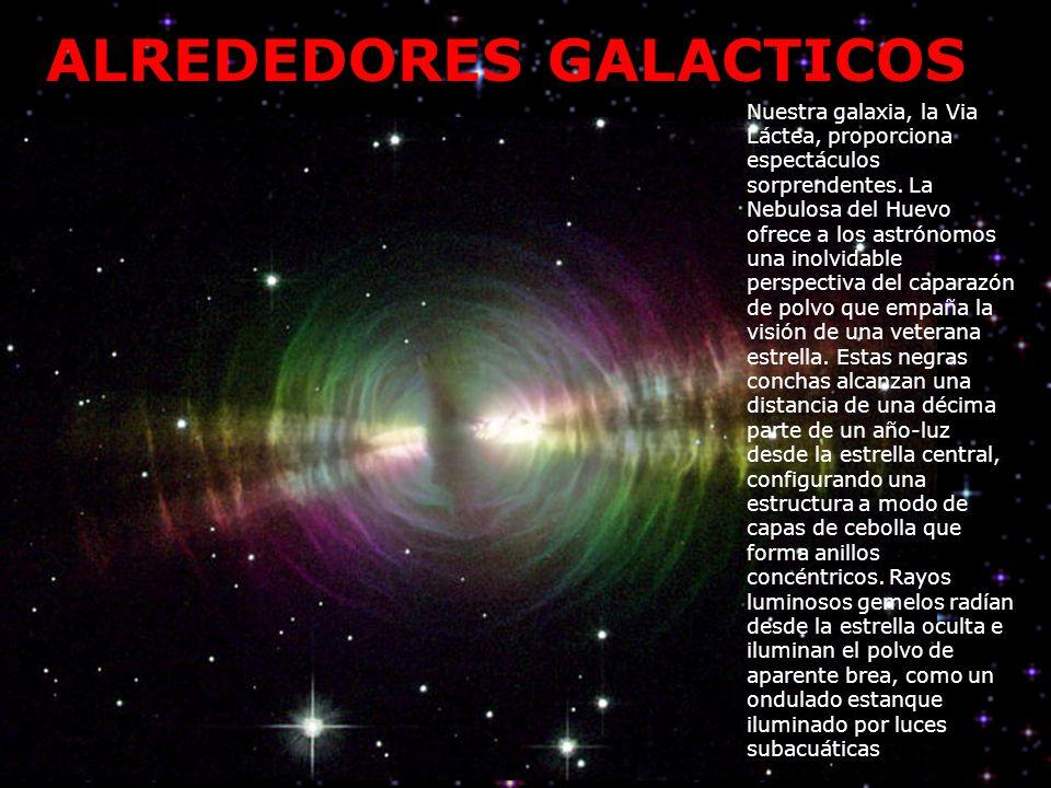 Nuestra galaxia, la Via Láctea, proporciona espectáculos sorprendentes. La Nebulosa del Huevo ofrece a los astrónomos una inolvidable perspectiva del