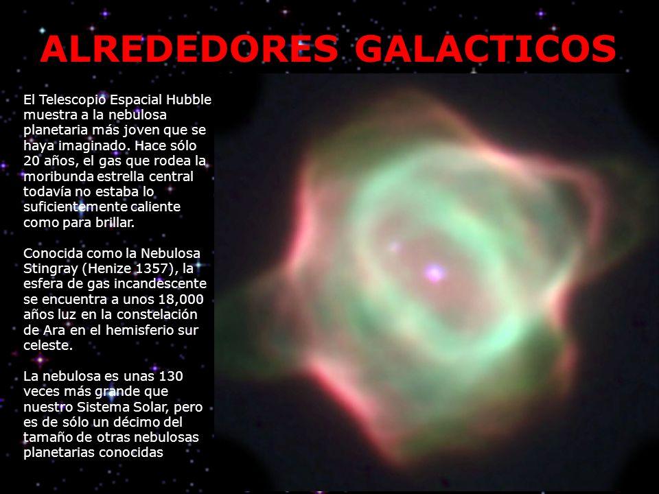 El Telescopio Espacial Hubble muestra a la nebulosa planetaria más joven que se haya imaginado. Hace sólo 20 años, el gas que rodea la moribunda estre