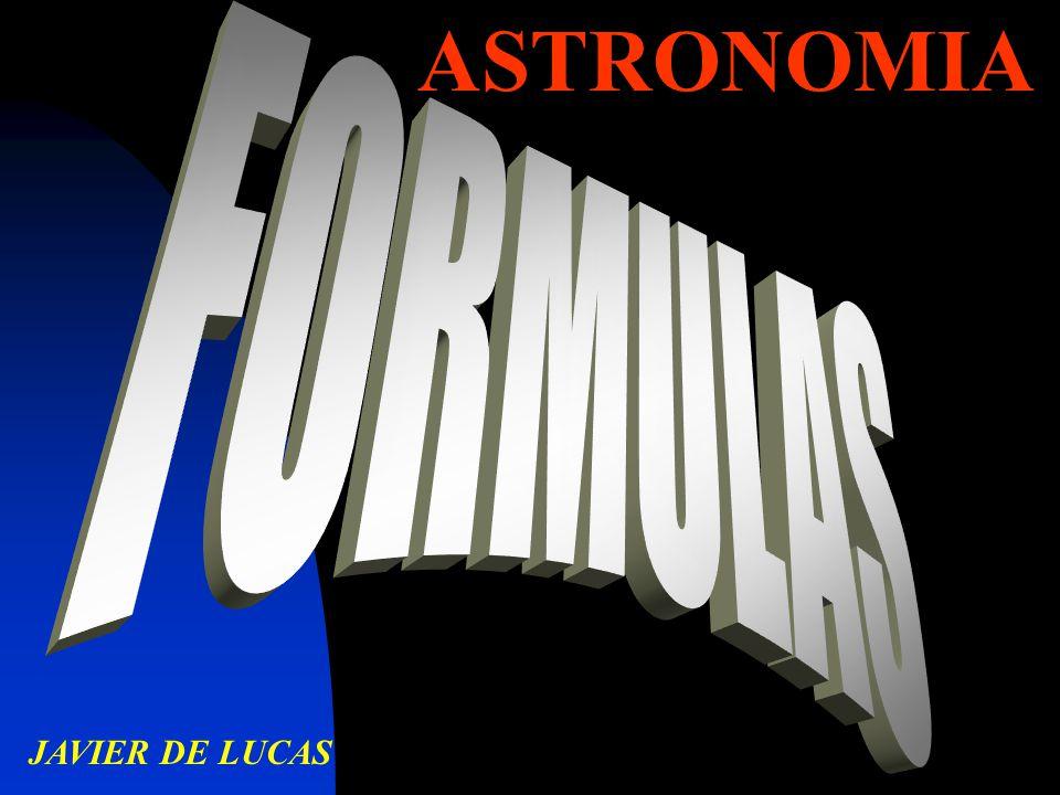 ASTRONOMIA JAVIER DE LUCAS