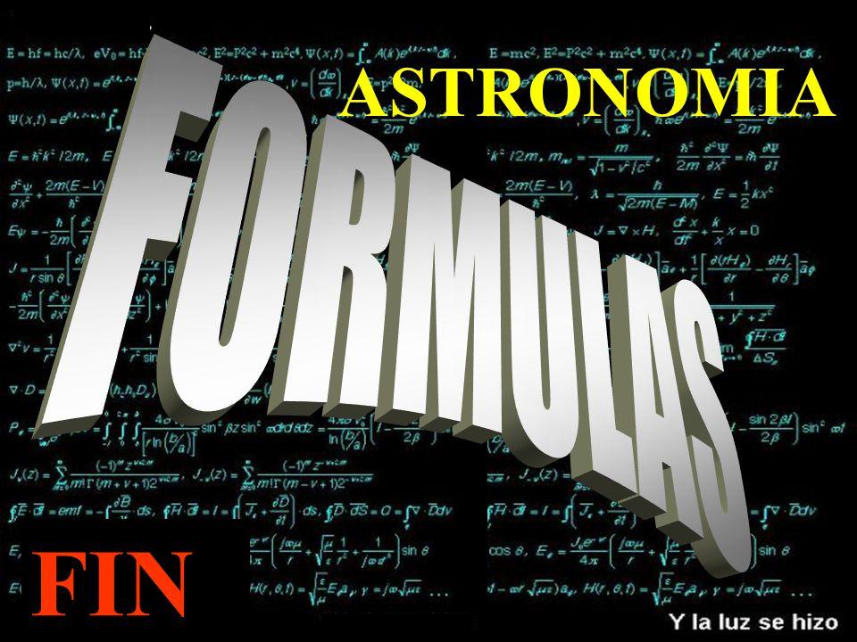 FIN ASTRONOMIA