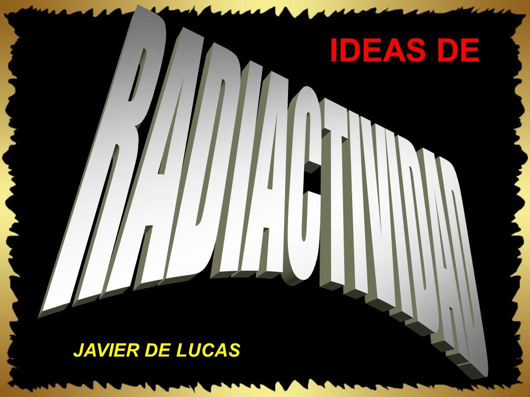 IDEAS DE JAVIER DE LUCAS