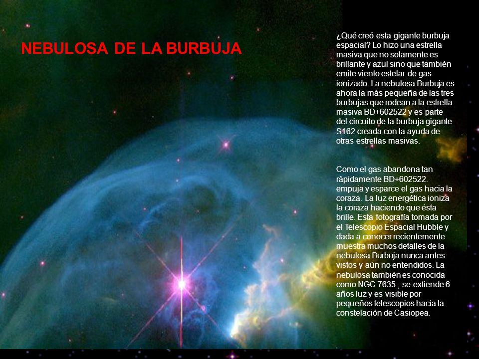 NEBULOSA DE LA BURBUJA ¿Qué creó esta gigante burbuja espacial.