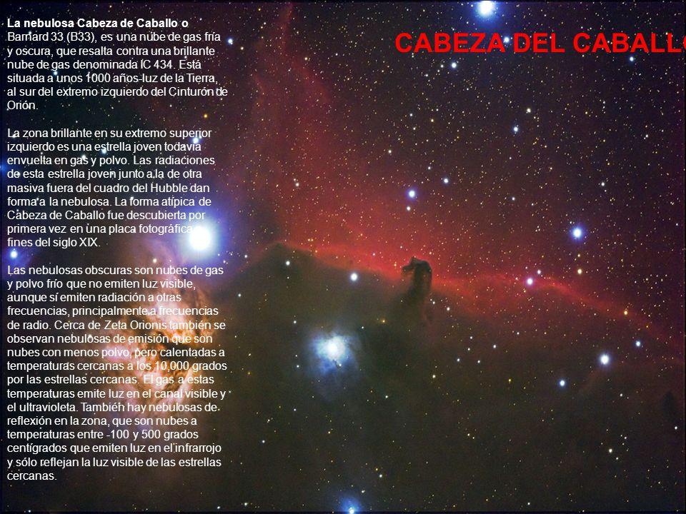 La Nebulosa Eta Carina (o Gran Nebulosa Carina) es una enorme nebulosa difusa, mucho más grande que la famosa Nebulosa de Orión.