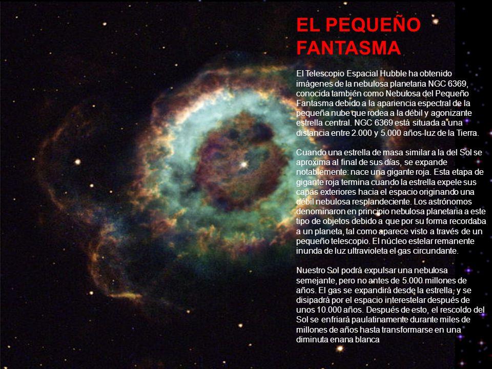NEBULOSA ESQUIMAL Nebulosa Esquimal NGC 2392, también llamada huevo podrido , se encuentra en la constelación de Geminis, a unos 5000 años luz de la Tierra.
