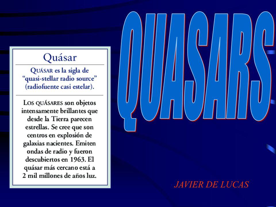También en los años ochenta se descubre otro hecho singular: algunos quasars no emiten en frecuencias de radio.
