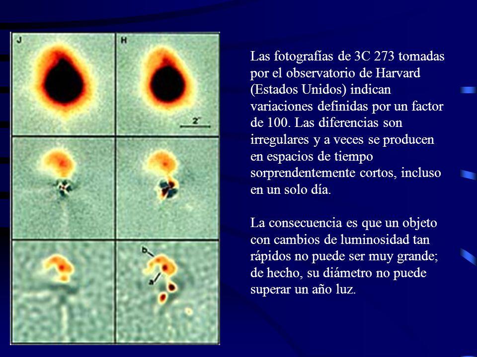En 1986 se habían inventariado más de 3.000 quasars.