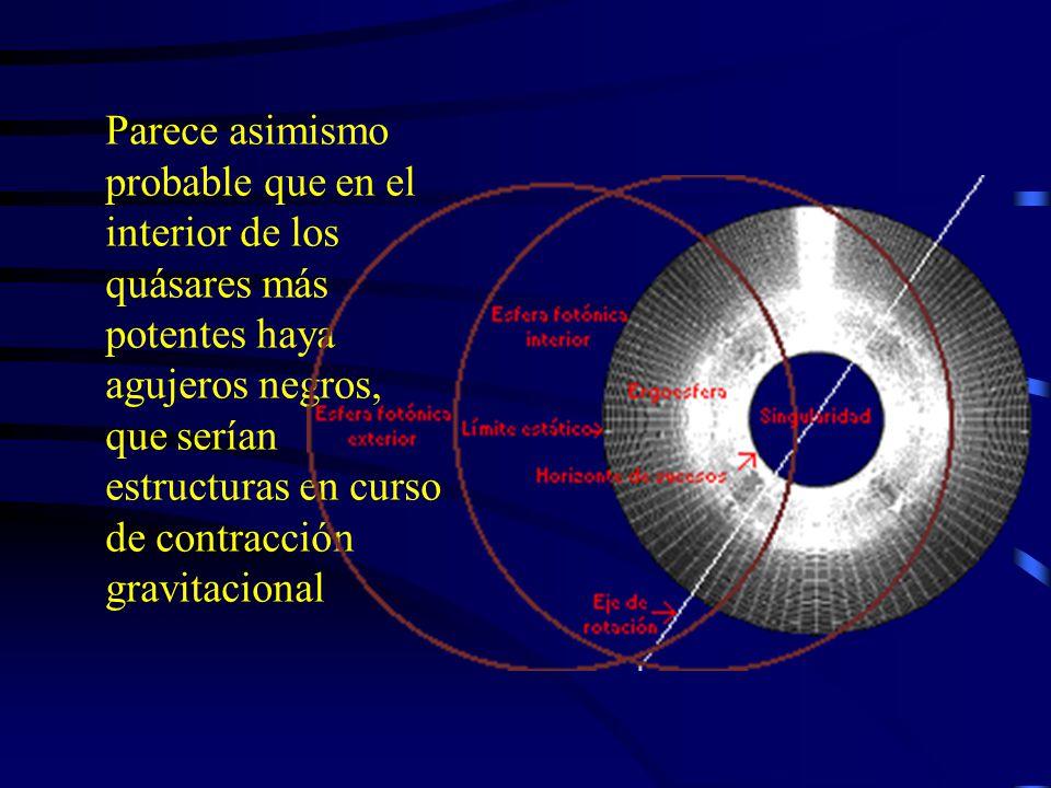 En presencia de un campo gravitatorio muy intenso, la longitud de las ondas luminosas aumenta, exactamente igual que en el efecto Doppler.