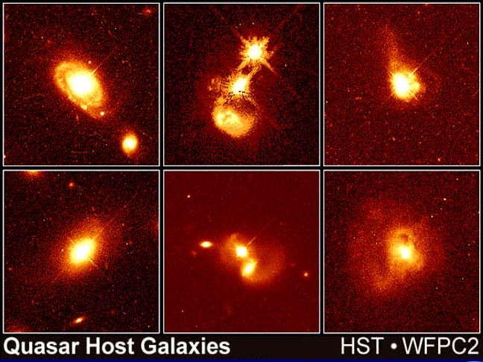 Los índices Doppler muy elevados de los quasars, por tanto su considerable alejamiento (teniendo en cuenta la deformación gravitatoria), indican, para muchos astrofísicos, que son objetos muy antiguos.