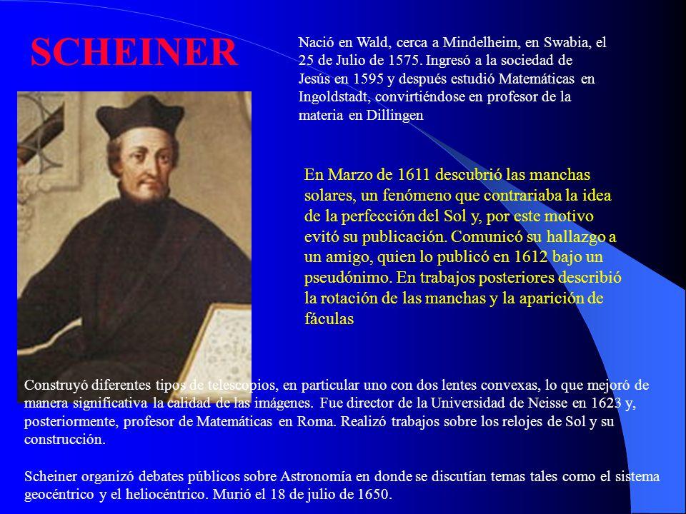 GIOVANNI BATTISTA HODIERNA Giovanni Battista Hodierna nació el 13 de abril de 1597 en Ragusa, Sicilia.