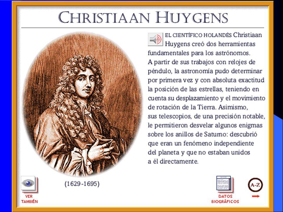 Nació en 1629 en La Haya, hijo de Constantin Huygens, una de las más importantes figuras del Renacimiento en Holanda Físico y astrónomo holandés cuyos grandes aportes los realizó en el campo de la dinámica y la óptica.