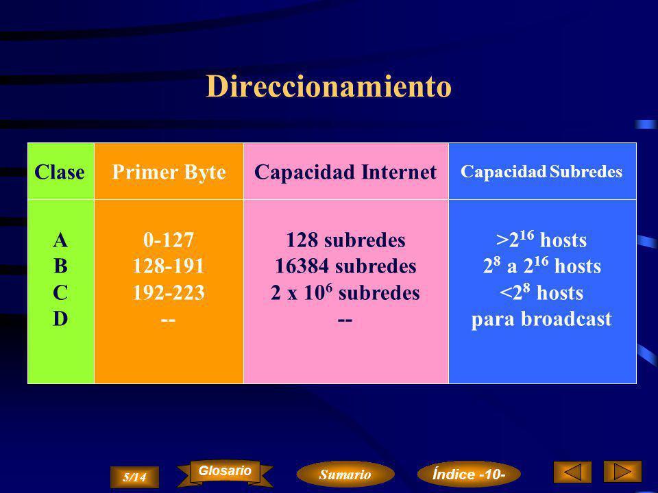 Funcionamiento de IP...Datos… DATOS VersiónLong.