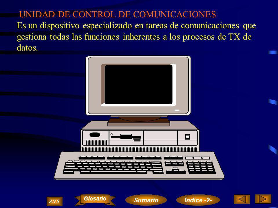 ORDENADOR CENTRAL Es el ordenador que procesa la información más extensa en un sistema teleinformático. 2/15 Sumario Glosario Índice -2-