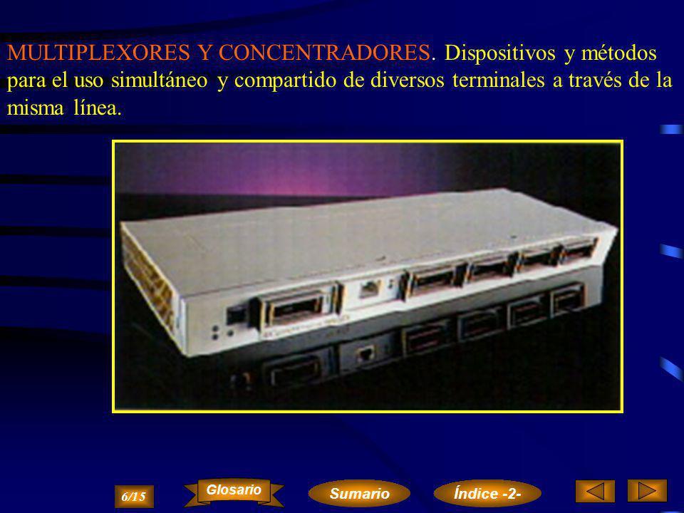 EL ADAPTADOR TELEGRÁFICO Es el equipo encargado de adaptar la señal digital de un equipo informático a una línea telegráfica.