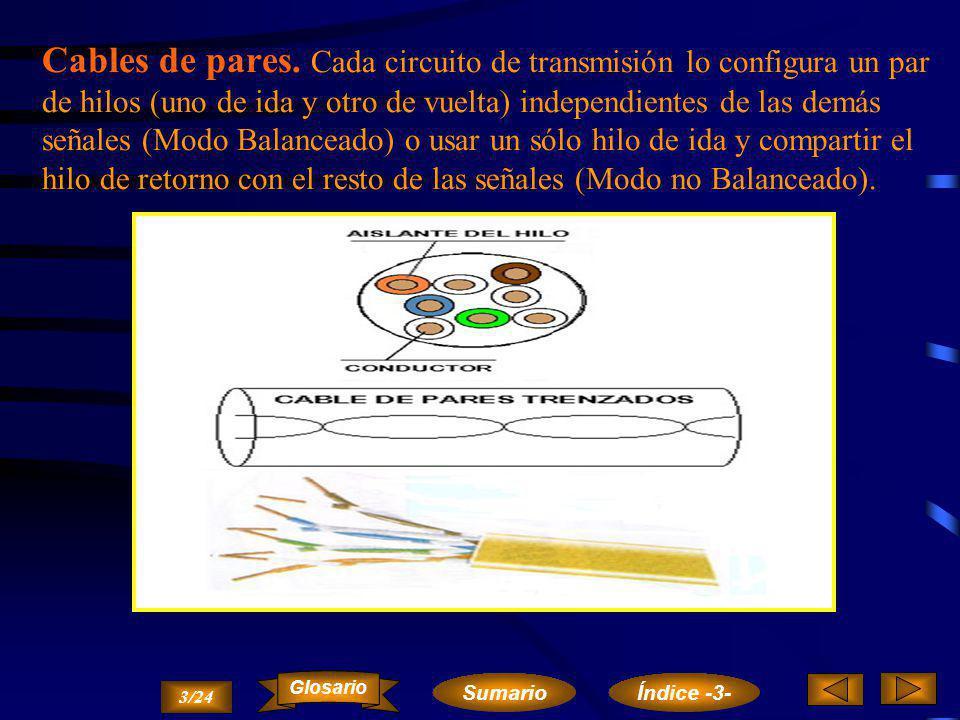 Líneas aéreas. Se trata del medio más sencillo y antiguo que consiste en la utilización de hilos de cobre o aluminio recubierto de cobre, mediante los