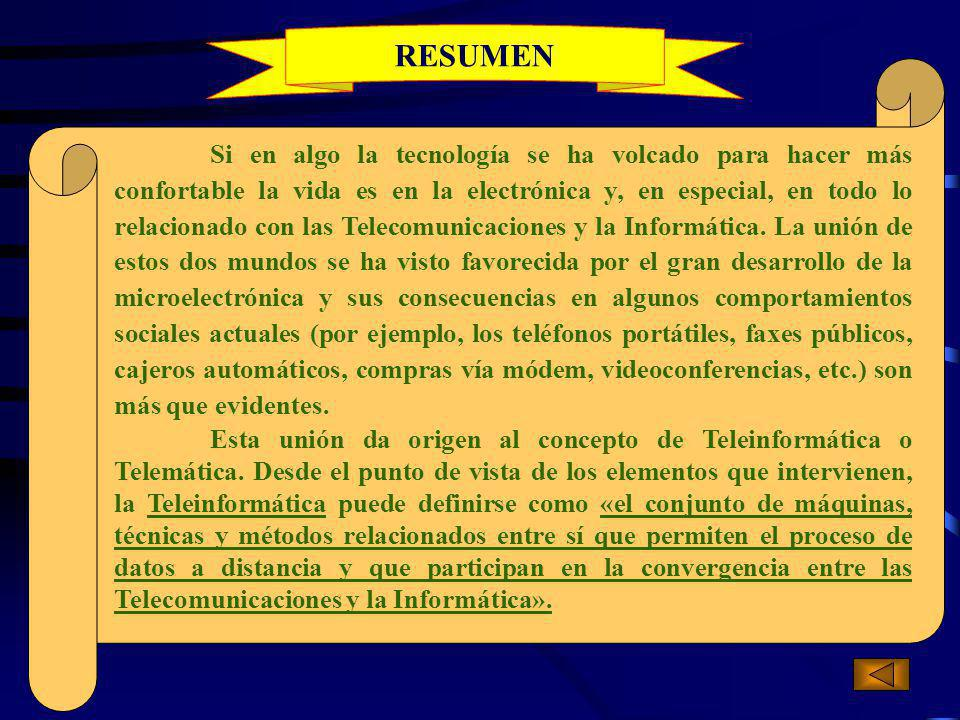 El Ordenador Planetario Teleinformática y Educación Teleinformática y Sanidad Teleinformática y Empresa Resumen 1/10 Cap.