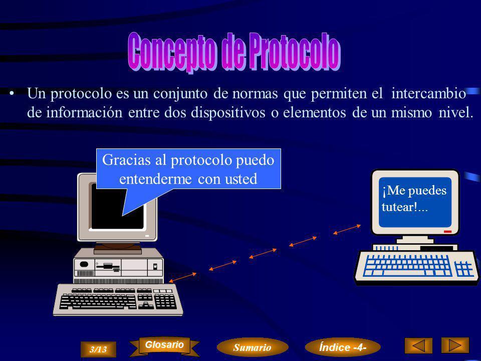 Cuando se pretende comunicar un sistema informático con otro a través de una red de comunicaciones, es necesario que exista un conjunto de elementos f
