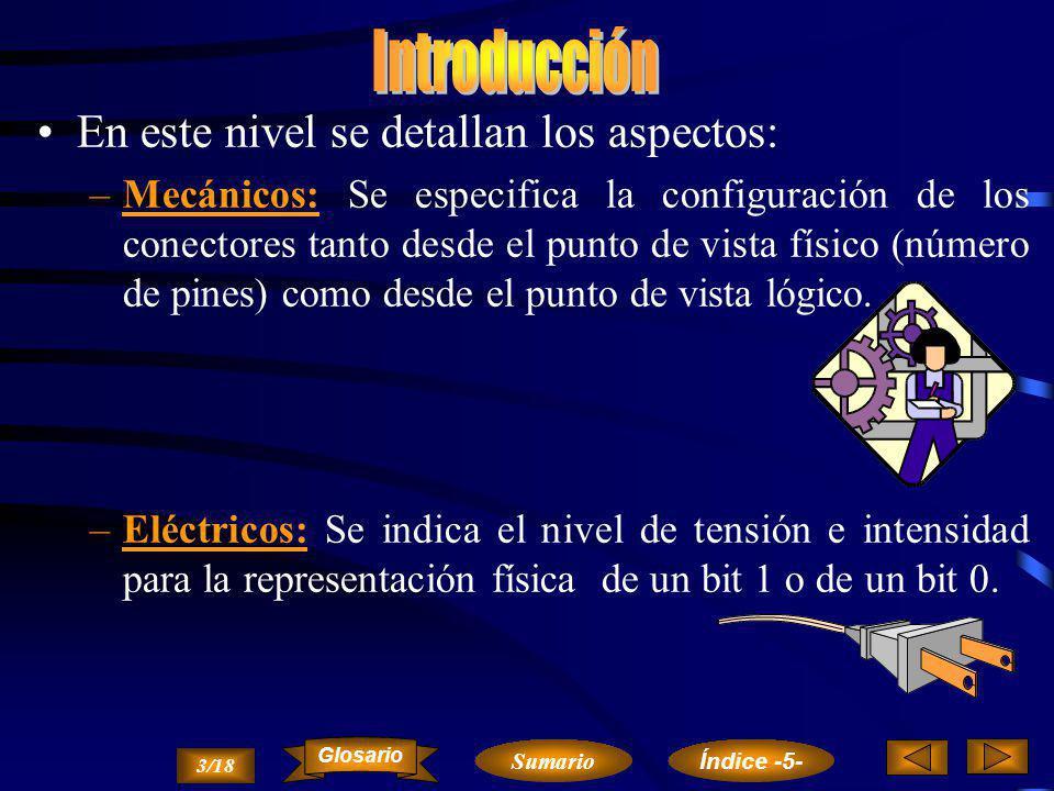 2/18 NIVEL DE ENLACE Sumario Glosario Índice -5-
