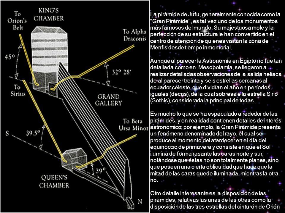 La pirámide de Jufu, generalmente conocida como la Gran Pirámide , es tal vez uno de los monumentos más famosos del mundo.
