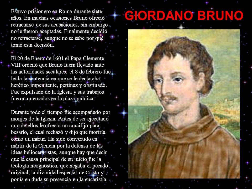 Estuvo prisionero en Roma durante siete años.