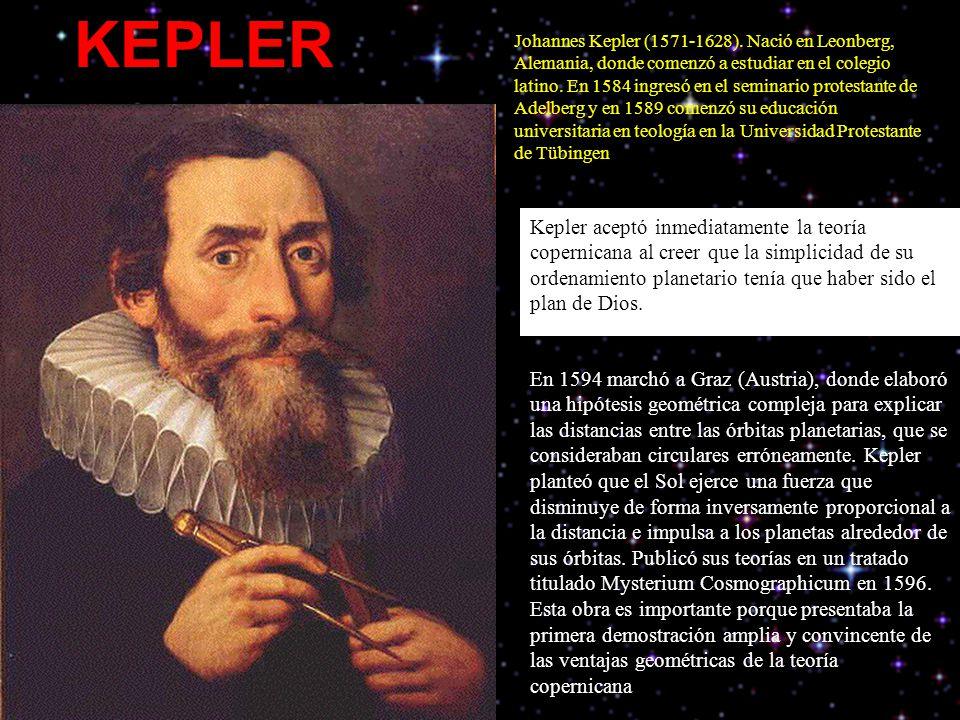 Johannes Kepler (1571-1628).