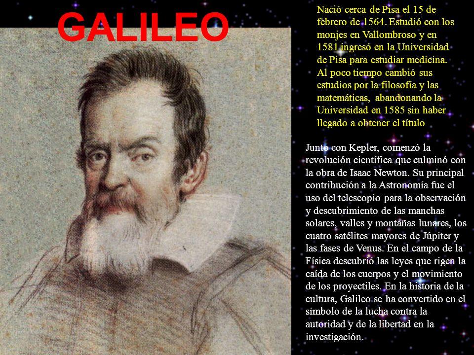 Nació cerca de Pisa el 15 de febrero de 1564.