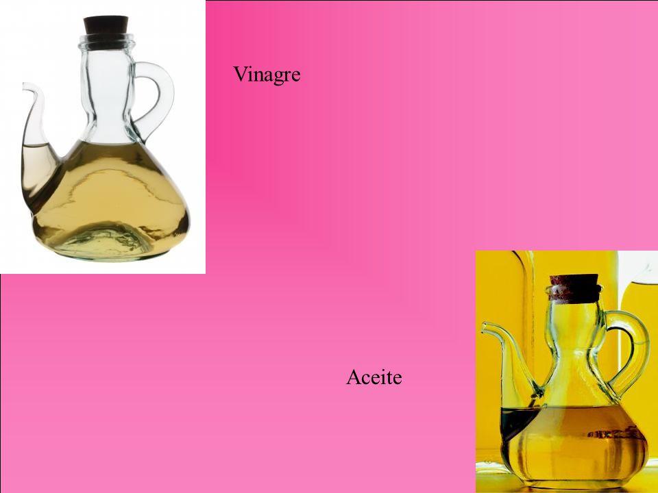 Vinagre Aceite