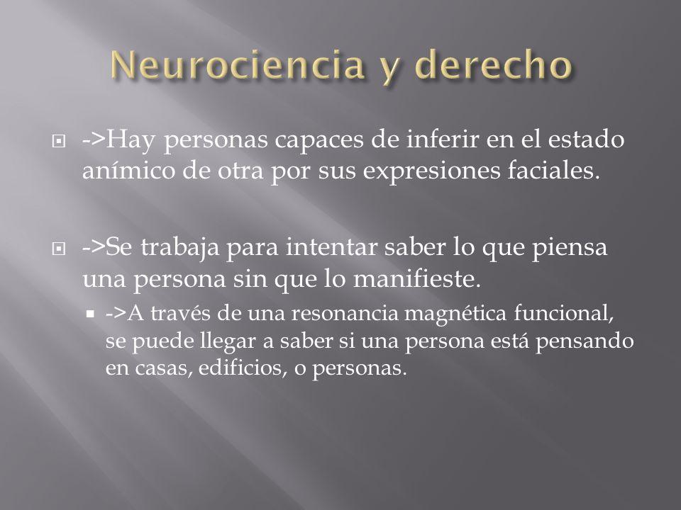 ->Hay personas capaces de inferir en el estado anímico de otra por sus expresiones faciales.