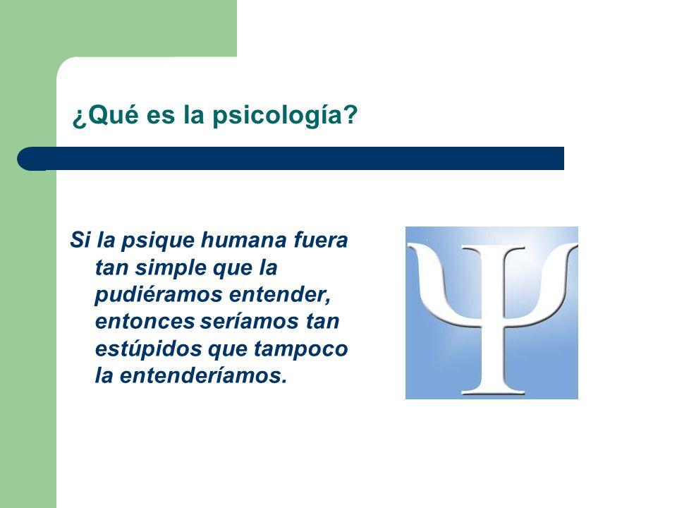 Índice.1. Definición de psicología. 2. ¿Cuándo comienza.